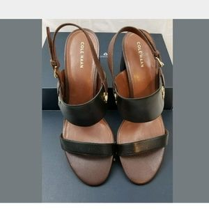 NEW Cole Haan leather sandals 9.5